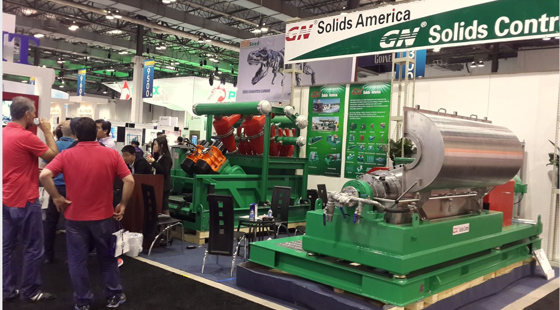 GN Solids Control at OTC 2014