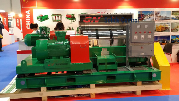 GN decanter centrifuge in ADIPEC 2014