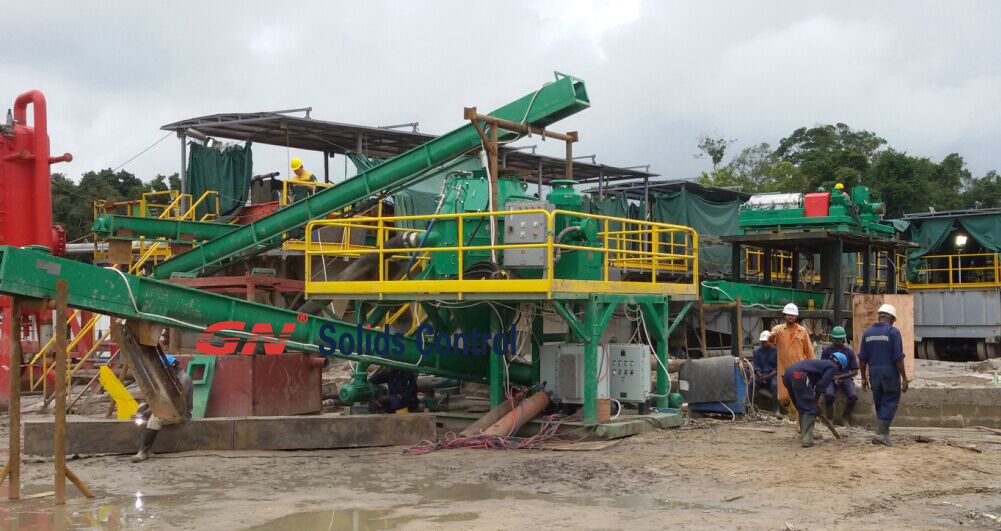 waste management equipment for Nigeria 3 drilling rigs