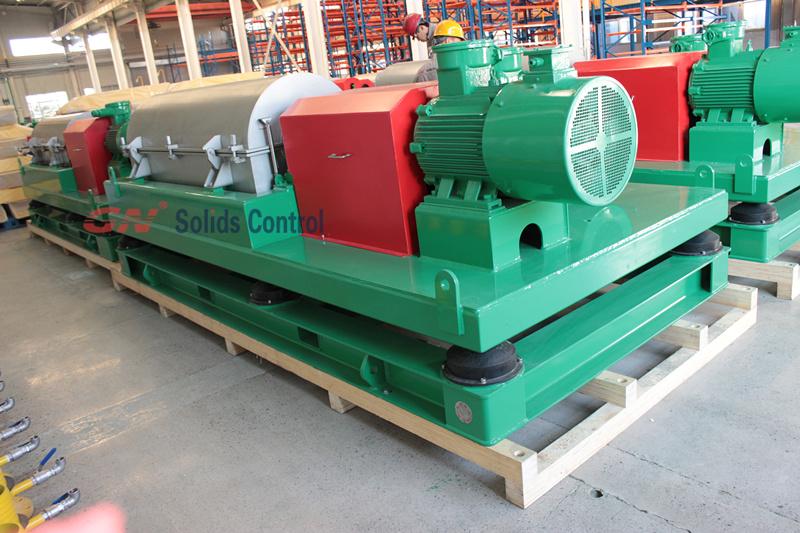 2015.11.05 2Big Bowl Big Volume decanter centrifuge shipping to Australia