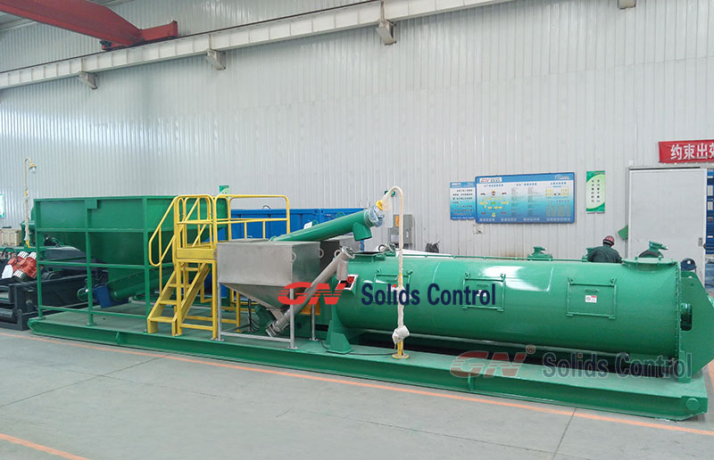 GN cuttings solidification unit shipping to North Africa