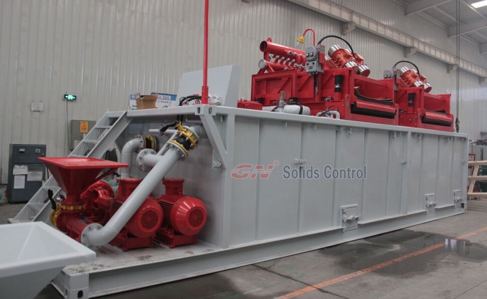 500gpm mud system for water well drilling