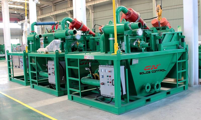 3 unidades de lijado de lodo de apilamiento para clientes del sudeste asiático