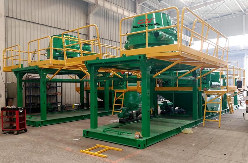 2 conjuntos de sistema de gestión de esquejes de perforación a base de petróleo para América del Sur
