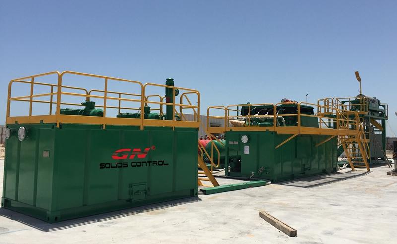 Equipos de procesamiento de líquidos viscosos de petróleo Finalización de la instalación en Medio Oriente