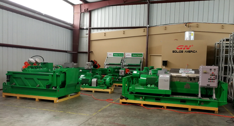 Centrífugas Decantadoras y Shale Shakers en Stock en Houston, Texas para la venta
