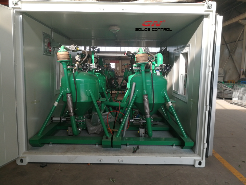 Unidades de bomba de vacío de sólidos GN para el proyecto de transferencia de lodo a larga distancia en Beijing