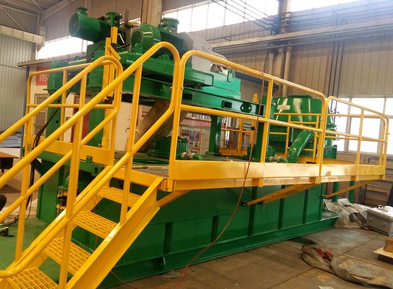 Sistema de tratamiento de esquejes de perforación a base de petróleo para el proyecto CNPC