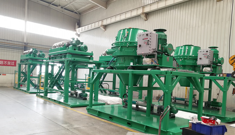 2020.5.29 telescopic skid mounted cuttings dryer