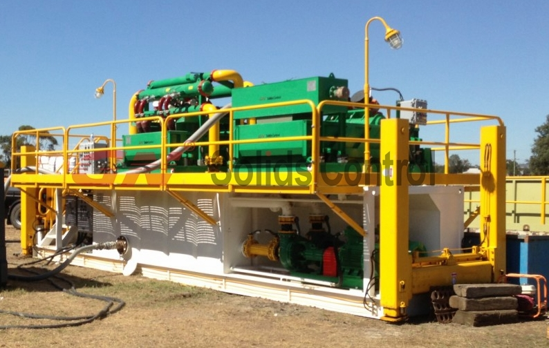 Hydraulic Jackup Mud Recycling System