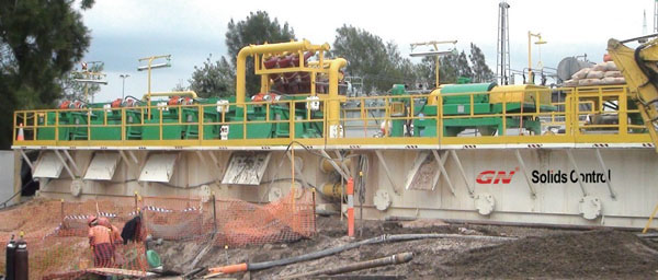 1500 GPM Drilling Mud Recycling System