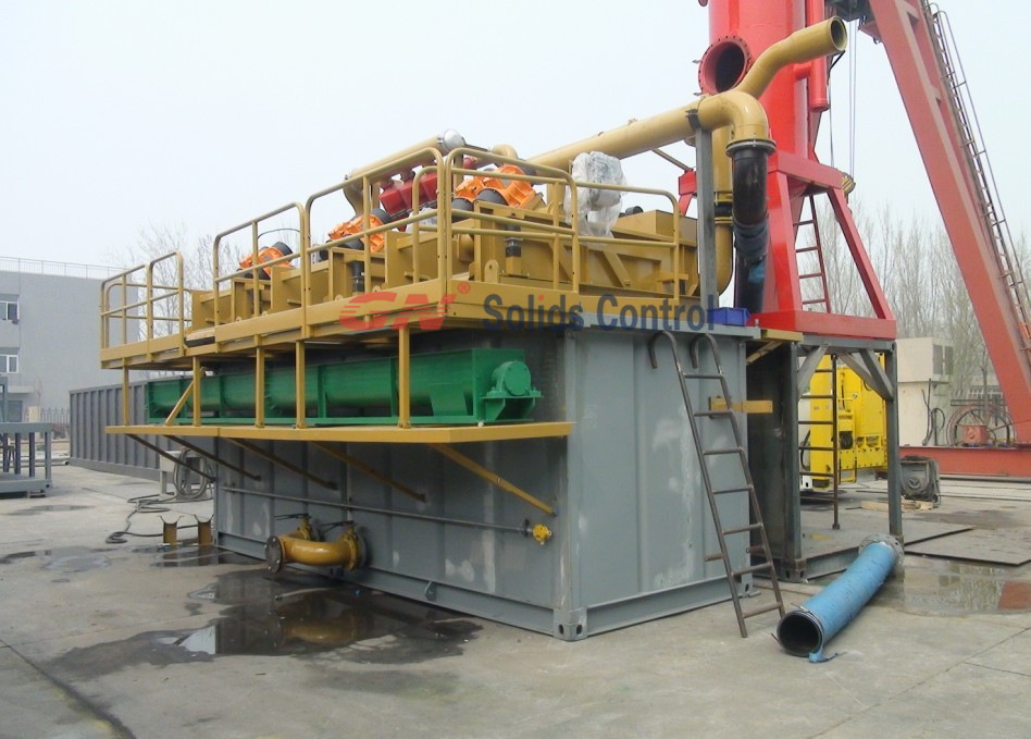 offshore drilling mud system