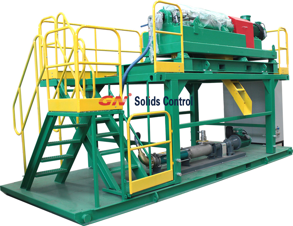 Decanter Centrifuge Skid