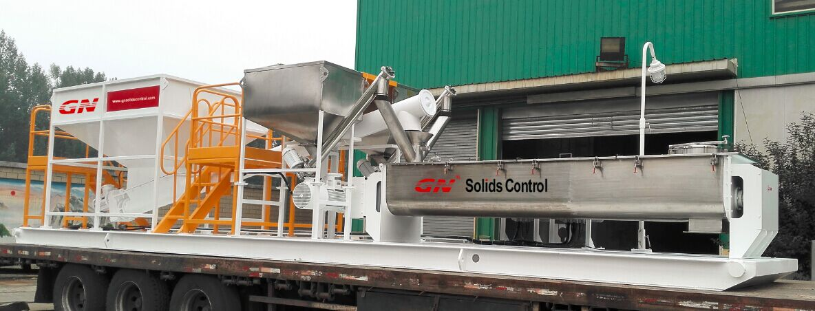 drilling cuttings solidsfication unit