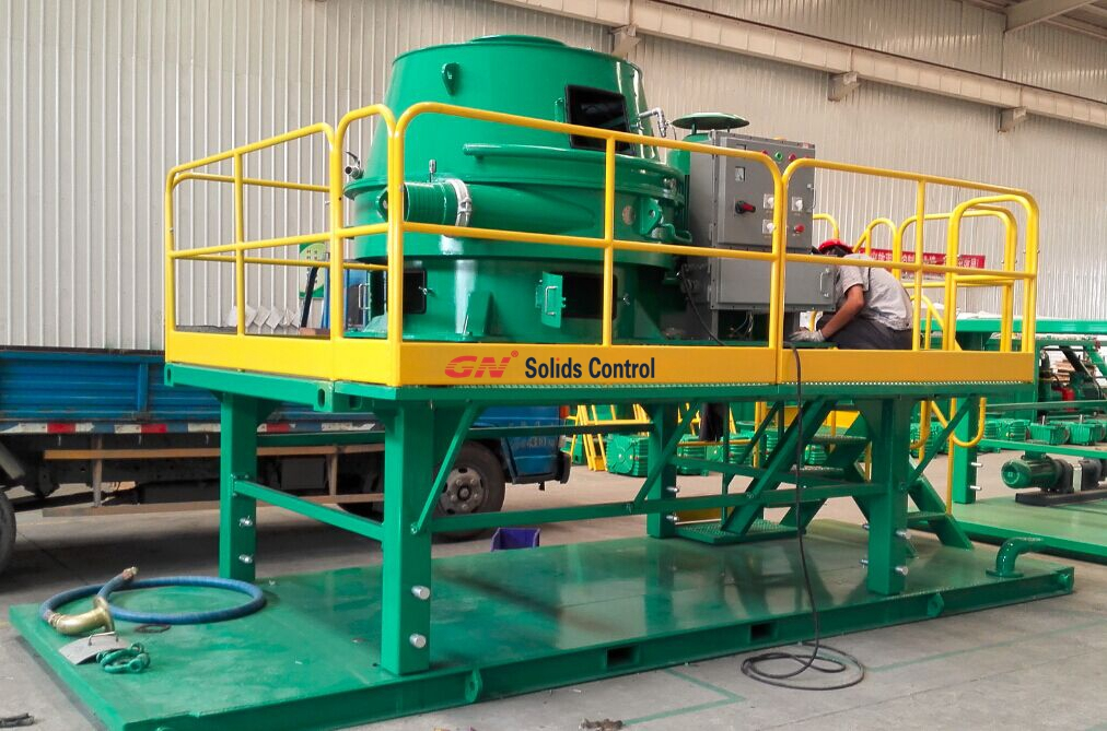 Vertical Cuttings Dryer Skid